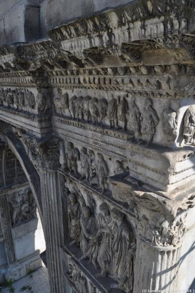 dettaglio arco di Traiano 4
