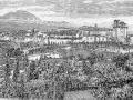 Villa Comunale in una incisione apparsa sul supplemento mensile illustrato del SECOLO del 14 giugno 1891