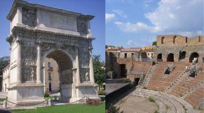 Arco Traiano e Teatro Romano