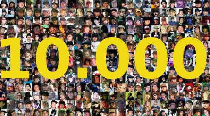10.000 aderenti