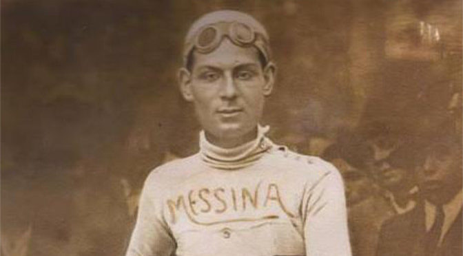 Ciclista Giulio Messina