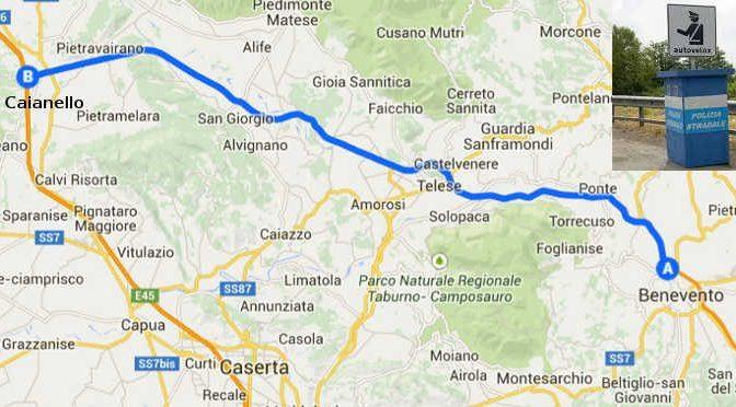 Autovelox Telese Caianello