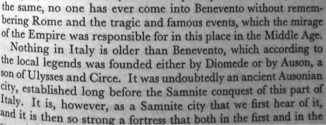 È vero che nulla in Italia è più antico di Benevento?