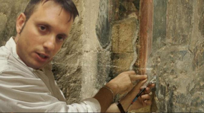 L'assessore Picucci da inizio al restauro dei Sabariani