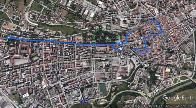 Una passeggiata per Benevento. Di Lino Ascione