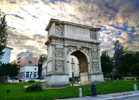 Arco di Traiano Camillo Fragnito