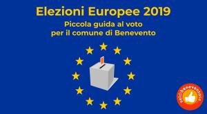 Banner elezioni europee 2019 Benevento